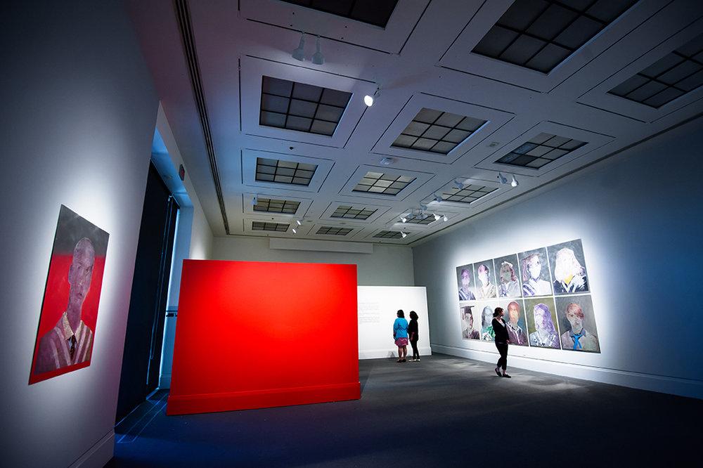 Szkola School , Main Gallery, Art Gallery of Mississauga. Photo by Janick Laurent.