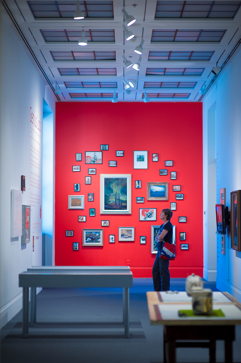 Genius Loci , Robert Freeman Gallery, Art Gallery of Mississauga. Photo by Janick Laurent.
