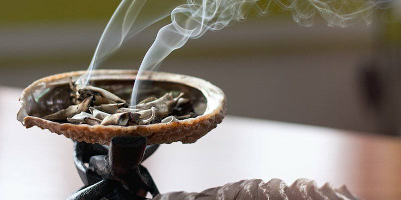 Sage is a great way to cleanse your home of stagnant negative energies.