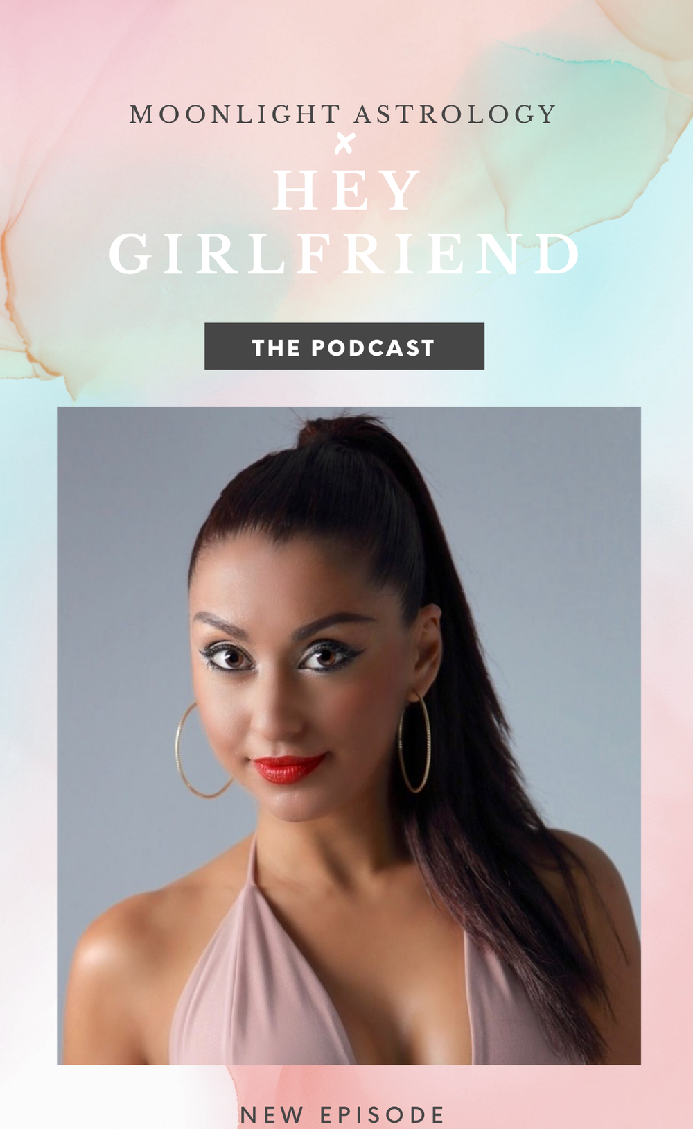 "Moonlight Astrology on ""Hey Girlfriend"" Podcast"