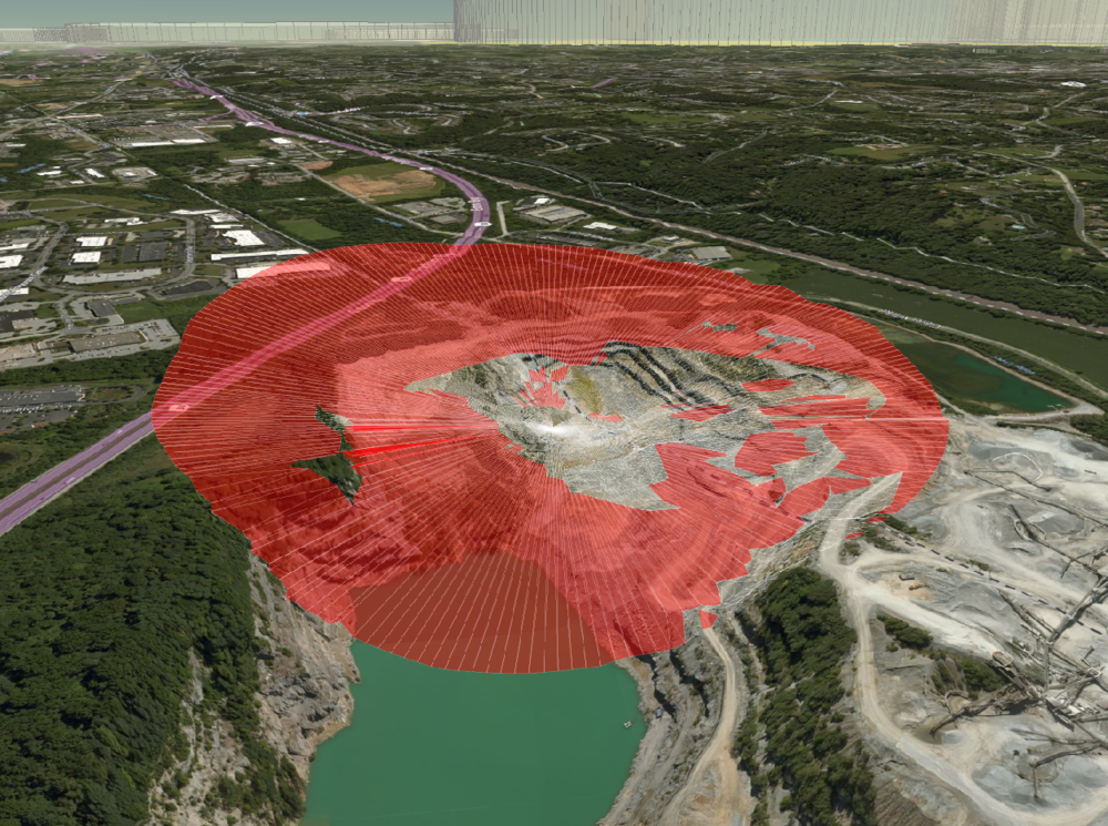 Terrain Analytics - Line-of-Sight Impact From a Pilot's Perspective