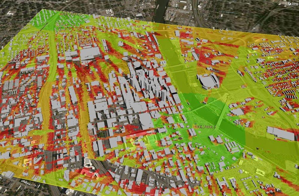OneSky Urban Comm LTE Analysis Coverage