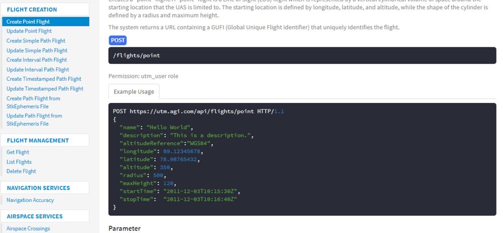 OneSky UTM API