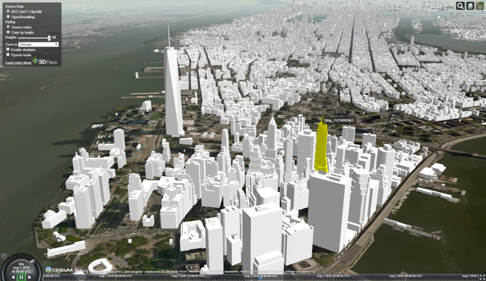 3D Buildings Explorer - Discover Streaming 3D Building Data!