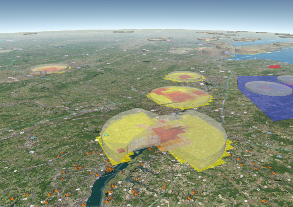 Airspace Analytics - Understand Airspace Volumes, Proximity & Operation Restrictions