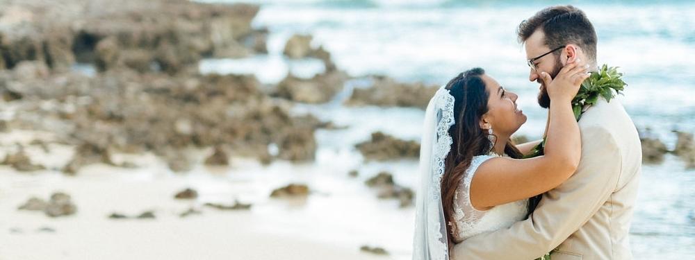 tina + ben - Kahuku, Hawaii Photography: Schyne Photography