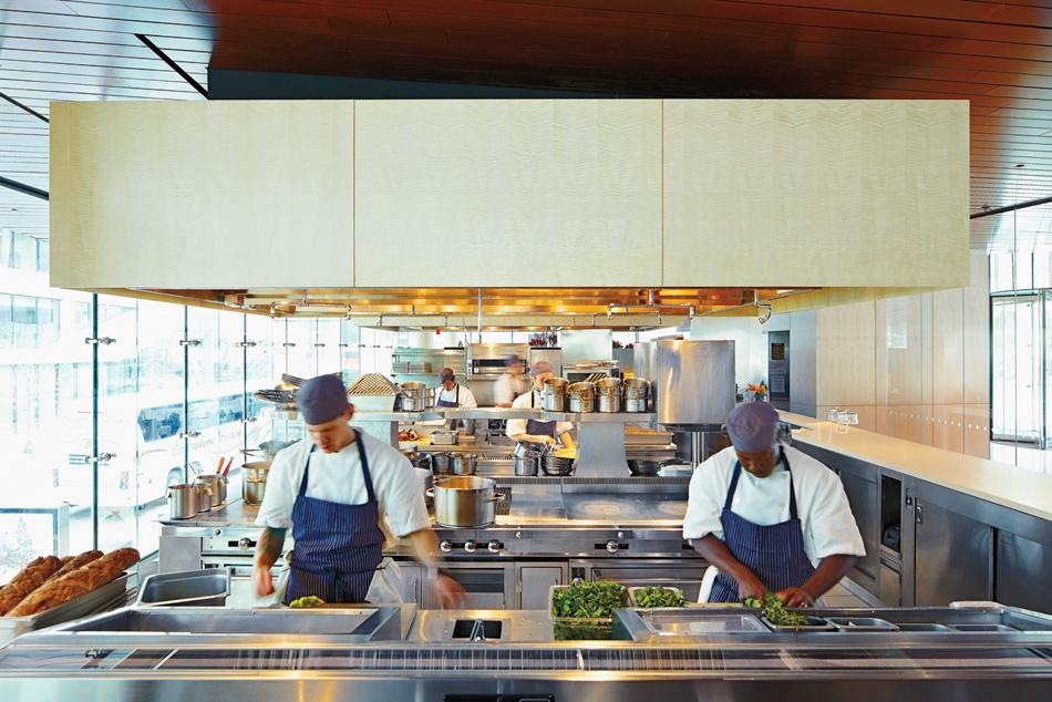 Lincoln Ristorante for Chef Jonathan Benno and The Patina Group, Lincoln Center NYC   Photo: Joe Scarfuro