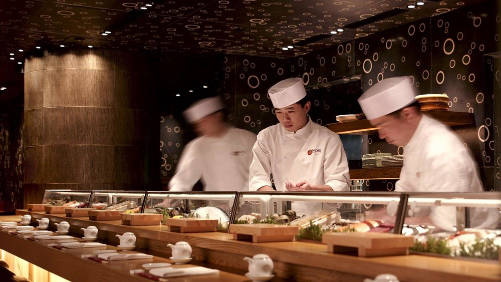 Nobu InterContinental Hong Kong by Chef Nobu Matsuhisa and Rockwell Group