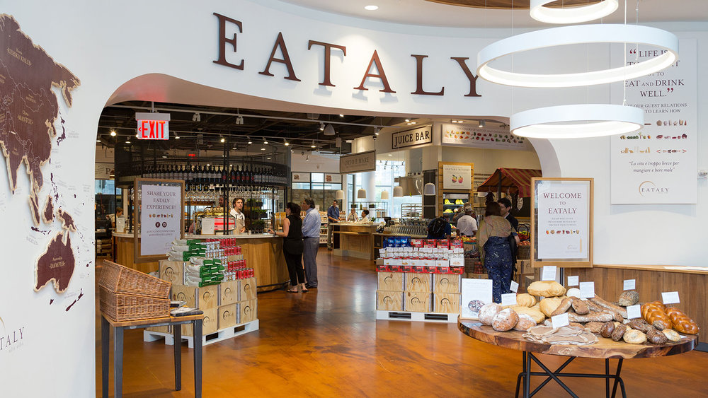 Eataly Downtown  Photo: Pablo Enriquez