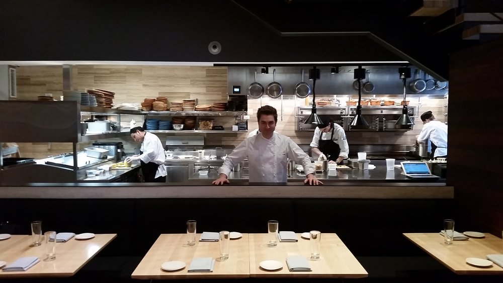 Chef Alex Stupak at Empellón