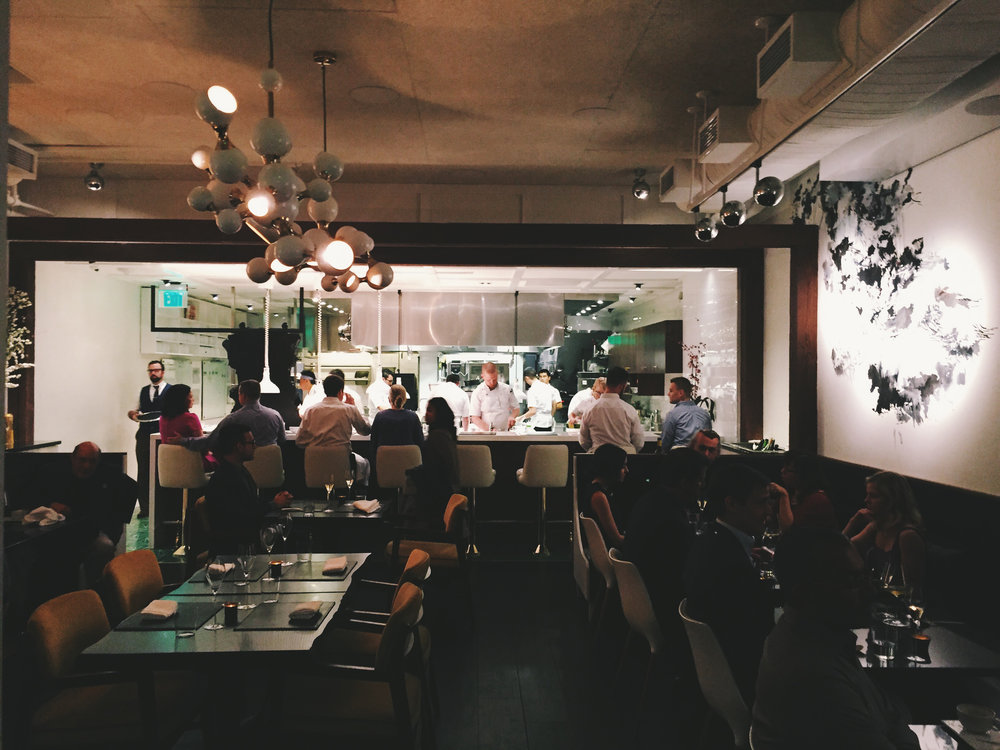 Open kitchen at Pineapple and Pearls