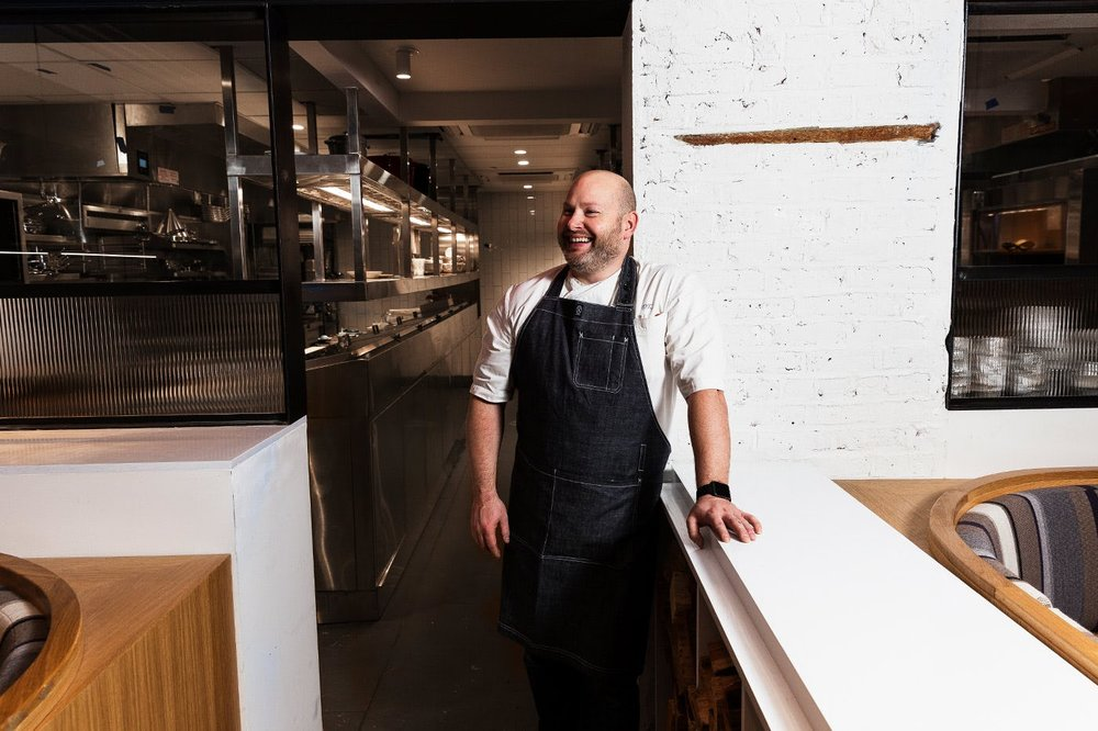 Chef Dan Kluger at Loring Place
