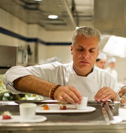 Chef Eric Ripert in Le Bernardin