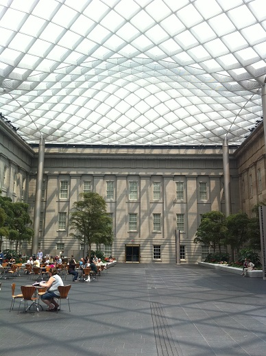National Portrait Gallery Kogod Courtyard