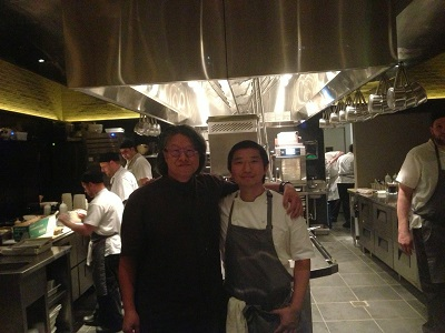 Chef Peter Serpico with Jimi