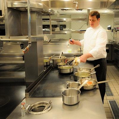 Chef Mathieson at Inox
