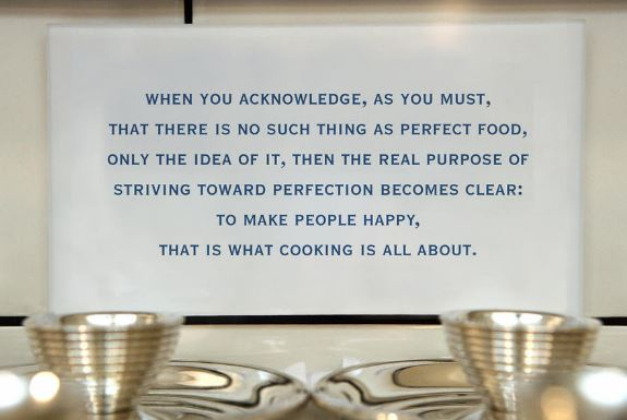 Thomas Keller's philosophy
