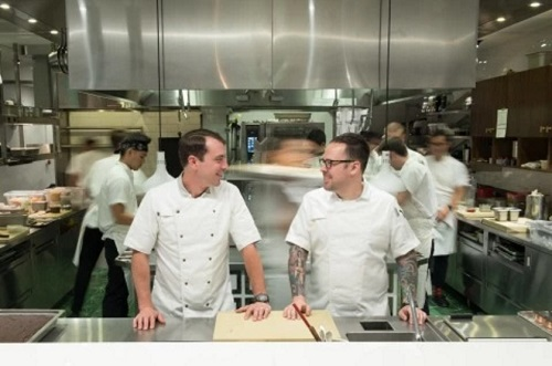Chef Aaron Silverman at Pineapple and Pearls   Photo: Dixie D. Vereen