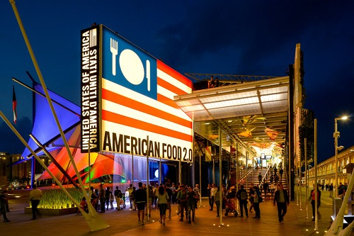 USA Pavilion EXPO Milano 2015 at night lores.jpg