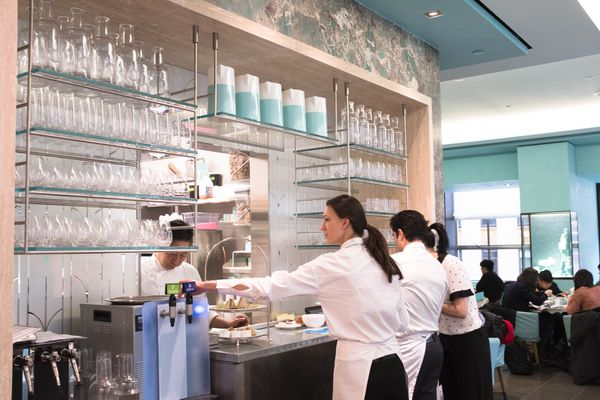 Blue Box Café in NYC for Tiffany & Co.