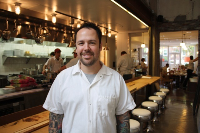 Rose's Luxury with Chef Aaron Silverman   Photo: Jessica Sidman
