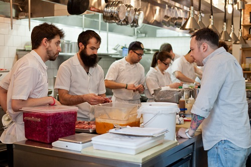 Rose's Luxury with Chef Aaron Silverman   Photo: Anthony Washington