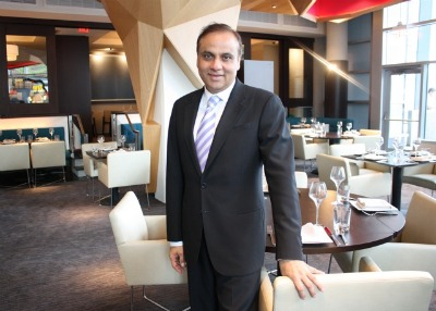 Ashok Bajaj of Knightsbridge Restaurant Group