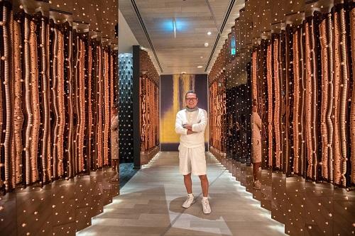 Chef Morimoto at Morimoto Doha