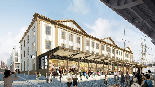 South Street Seaport renderings