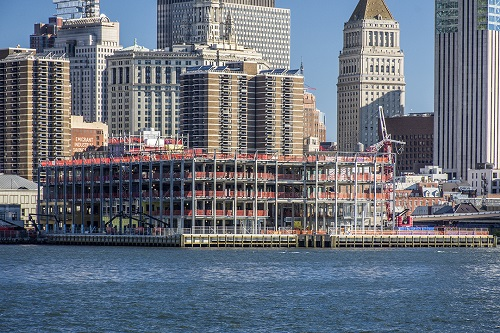 Construction of Pier 17, South Street Seaport, NYC   Photo: Tectonic