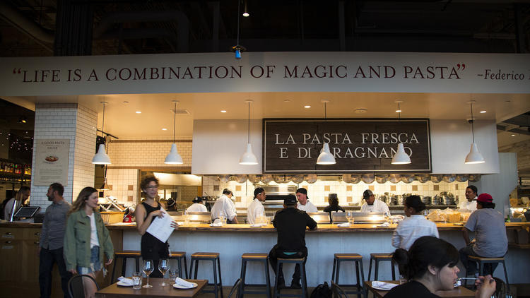 Eataly LA for Eataly and B&B Hospitality Group