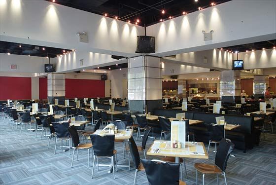 US Open Club, Arthur Ashe Stadium, US Tennis Center   Photo: Levy Restaurants