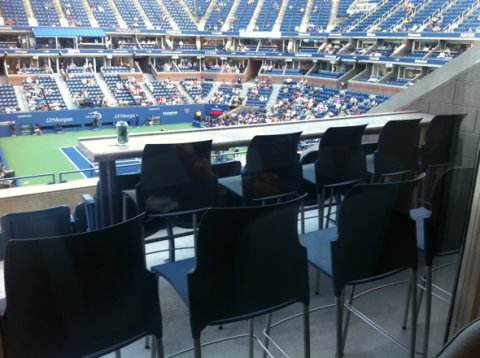 President's Suite, Arthur Ashe Stadium, US Tennis Center