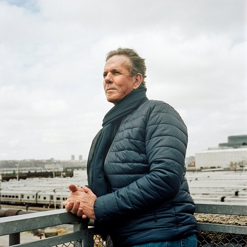 Chef Thomas Keller at the future site of Hudson Yards, in NYC Photo: Ben Sklar