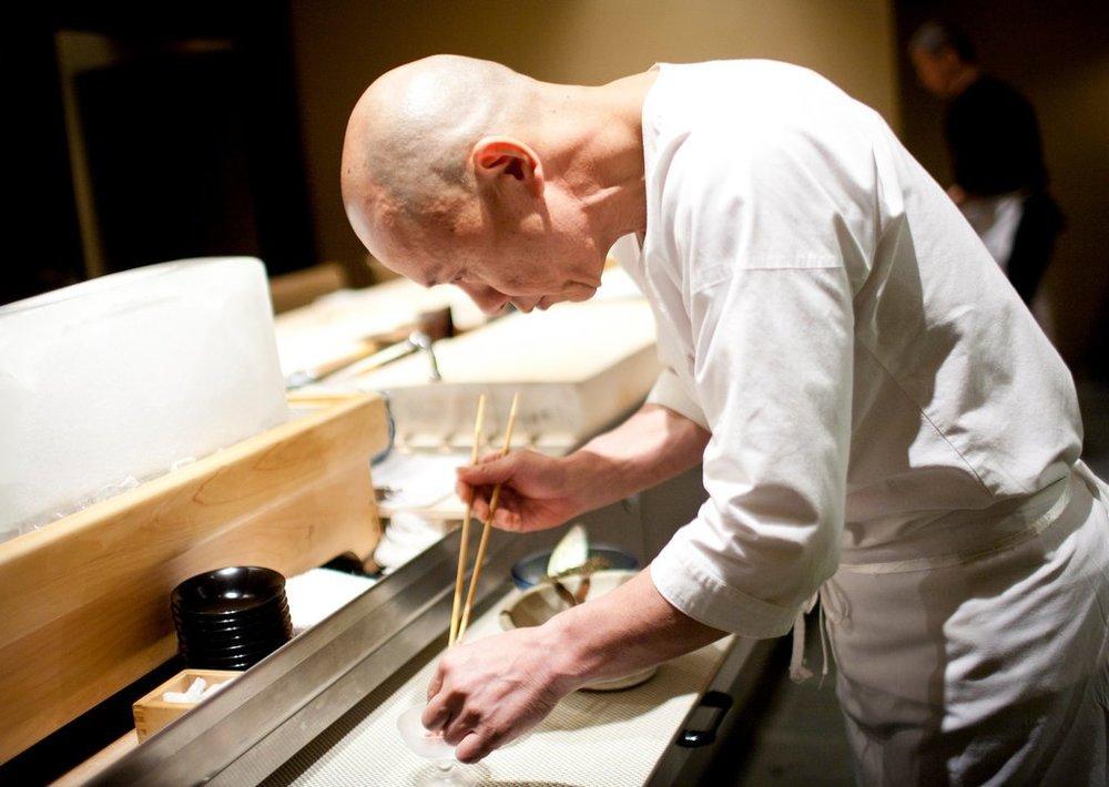 Chef Masa Takayama at Masa