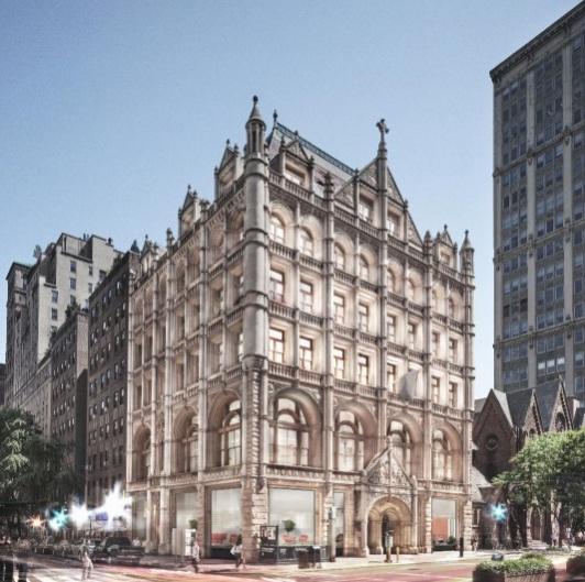 Fotografiska's future location at 281 Park Avenue South, NYC