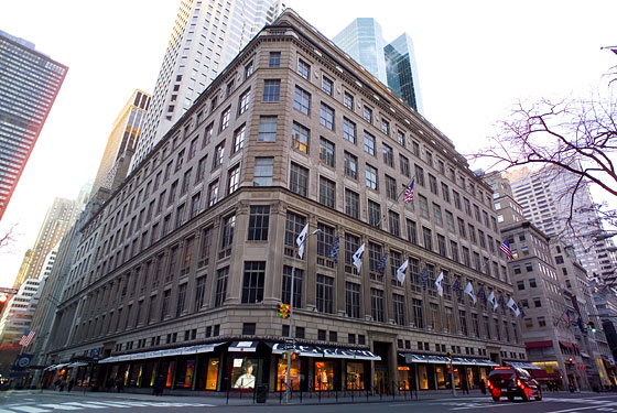 The future site of L'Avenue in Saks Fifth Avenue, NYC