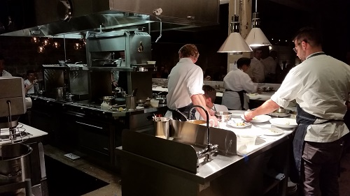 Chef Nicholas Stefanelli and team at Masseria