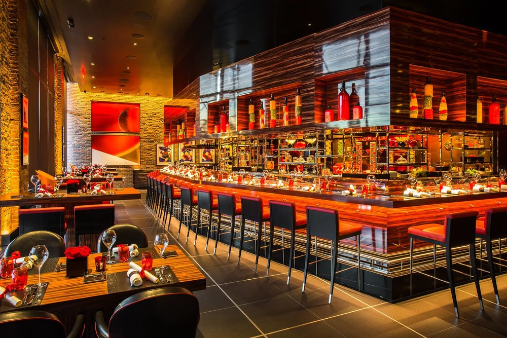L'Atelier de Joël Robuchon in NYC for Chef Joël Robuchon, Invest Hospitality and Related Urban Development Group