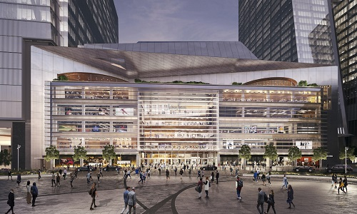 Renderings of The Shops & Restaurants of Hudson Yards, NYC