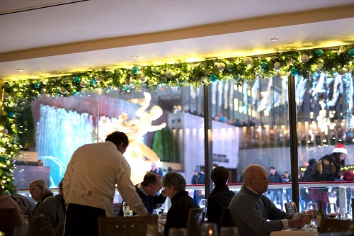 The Sea Grill, Rockefeller Center, NYC