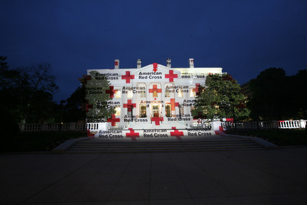 WASHINGTON HQ OF RED CROSS AMERICA