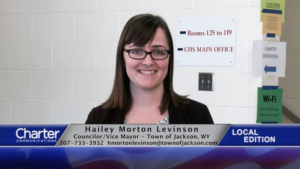 Hailey Morton Levinson - The youngest person elected to the Jackson Town Council, Morton Levinson earned the most votes in both the 2012 primary and general elections. She's been an advocate for affordable housing, mass transit and pedestrian/ bicyclist safety. She also went to college in DC, so gets a few bonus points for that.