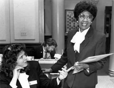 Liz Byrd - Wyoming's first black female legislator, Liz Byrd, sponsored a bill nine times to make Martin Luther King day a state holiday before it was finally adopted in 1990.
