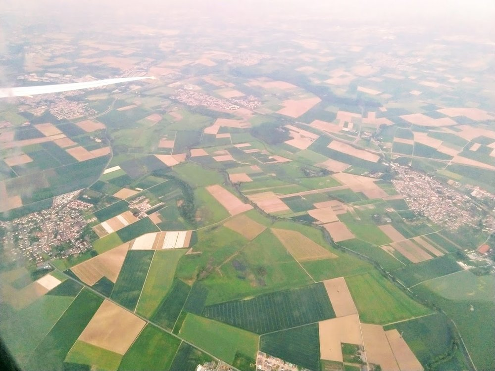 Aerial view 10 minutes from the Frankfurt airport