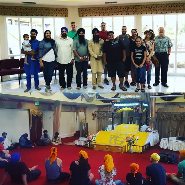 Another fantastic Temple Talk today at the Sikh Temple. Join us the last Tuesday of every month at 2:00 for our Temple Talks.