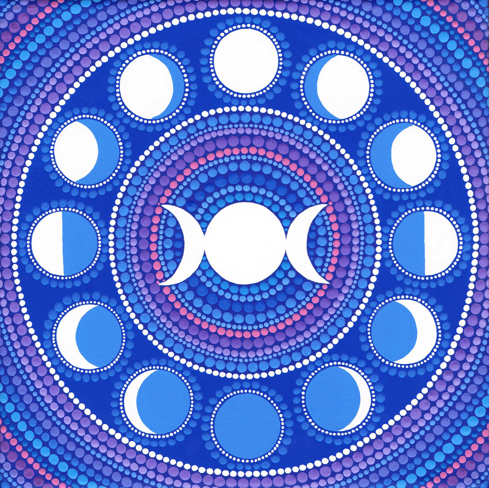 Mooncycle Mandala