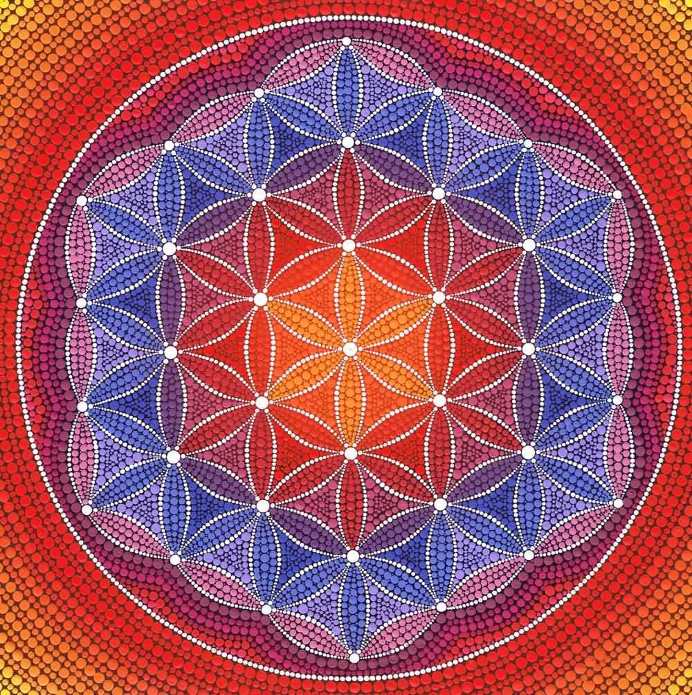 Fiery Flower of Life