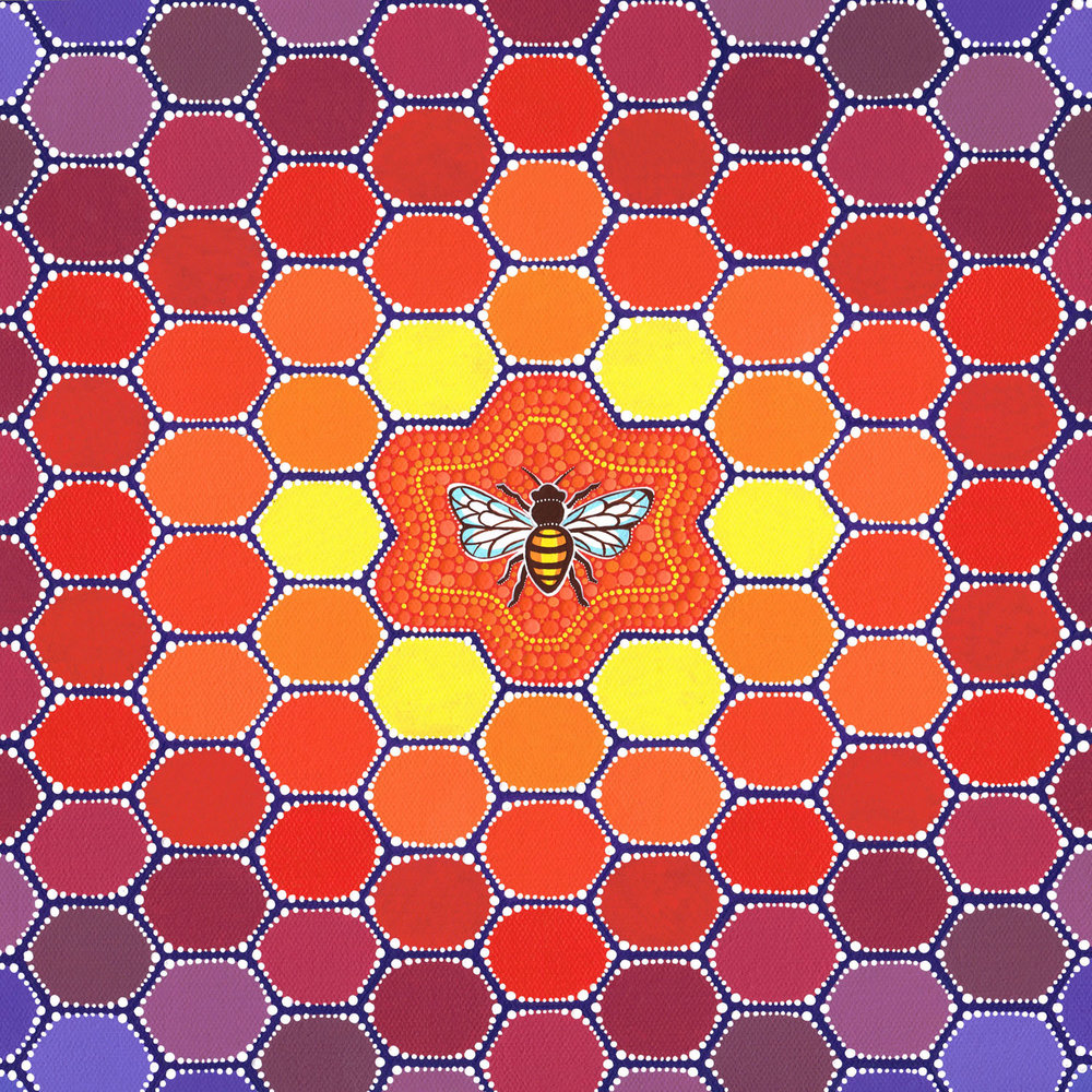 Bee Sacred Geometry