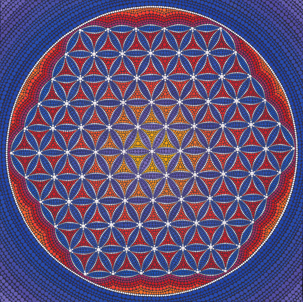 Gigantic Flower of Life